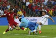 Le but d'Eduardo Vargas... (Photo Reuters) - image 2.0