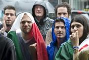 Les partisans de l'Italie, à la fin du... (Photo Robert Skinner, La Presse) - image 1.0