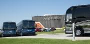 La devanture de l'usine d'assemblage de Prévost de... (Photo Simon Giroux, La Presse) - image 1.0