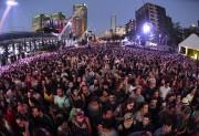 La place des Festivals était bondée.... (Photo Bernard Brault, La Presse) - image 1.0
