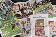 Les Unes des journaux allemands au lendemain de... (Photo John McDougall, AFP) - image 3.0