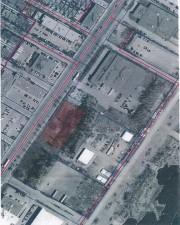 L'emplacement du futur Centre de services animaliers municipal... (Photo fournie par la ville de Montréal) - image 1.0