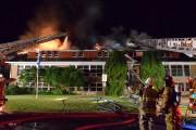 Un incendie criminel a détruit vendredi l'école primaire... (Photo Stéphane Gauthier, collaboration spéciale) - image 1.0