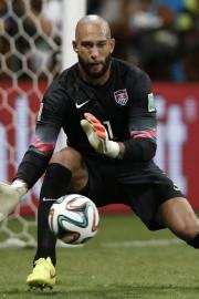 Le gardien des États-Unis Tim Howard.... (Photo Adrian Dennis, AFP) - image 3.0