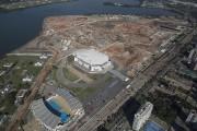 Le parc olympique de Rio en construction... (Photo Leo Correa, AP) - image 1.0
