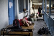 De nombreux Palestiniens ont fui le quartier de... (PHOTO MARCO LONGARI, AGENCE FRANCE-PRESSE) - image 2.0