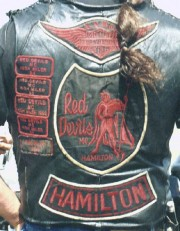 Anciennes couleurs des Red Devils de Hamilton.... (PHOTO ARCHIVES LA PRESSE) - image 2.0