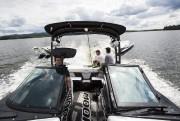 Les wakeboats sont spécifiquement conçus pour soulever une... (PHOTO SIMON GIROUX, LA PRESSE) - image 5.0