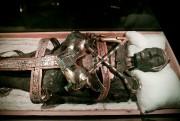 Une imitation de la momie deToutânkhamon.... (PHOTO DAVID BOILY, LA PRESSE) - image 1.0