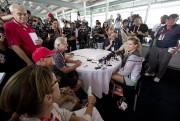 Eugenie Bouchard a rencontré les médias, dimanche.... (PHOTO ROBERT SKINNER, LA PRESSE) - image 1.0
