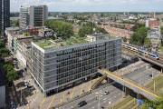 Le pont piétonnier Luchtsingel de Rotterdam... (Photo Ossip van Duivenbode, fournie par Zones Urbaines Sensibles) - image 2.0