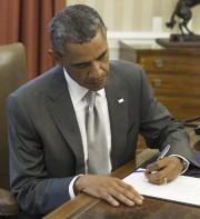 Barack Obama... (PHOTO SAUL LOEB, AGENCE FRANCE-PRESSE) - image 1.0