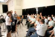 Des cadets des cours intermédiaires et avancés ont... (Photo fournie par Serge Malaison) - image 3.0