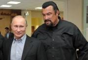 Seagal a déjà parlé de Poutine comme d'un... (Photo ALEXEI NIKOLSKY, AFP) - image 1.0