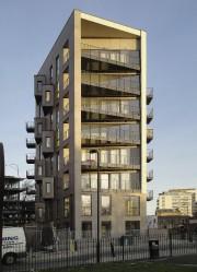 La Birdport House de huit étages à Londres... (Photo fournie par Cecobois) - image 2.0