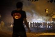 Les tensions étaient vives dès le crépuscule. Les... (Photo AP) - image 1.0