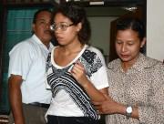La fille de la victime, Heather Mack, 19... (Photo SONNY TUMBELAKA, AFP) - image 1.0