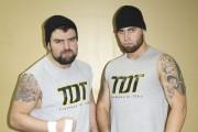 Mathieu St-Jacques (Mathieu Laframboise) et Thomas Dubois... (Photo fournie par les lutteurs) - image 7.0