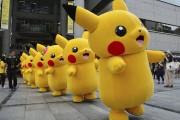 Défilé de mascottes Pikachu à Yokohama au Japon.... (PHOTO YOSHIKAZU TSUNO, ARCHIVES AFP) - image 9.0