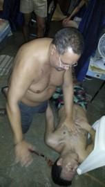 Arthur Porter dans sa prison au Panama en... (PHOTO TIRÉE DE TWITTER) - image 1.0