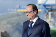 Le président François Hollande, à La Réunion, le... (PHOTO ALAIN JOCARD, ARCHIVES REUTERS) - image 1.0