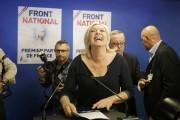 La chef du FN Marine Le Pen, à... (PHOTO CHRISTIAN HARTMANN, ARCHIVES REUTERS) - image 3.0