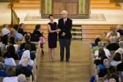 Le couple a reçu une ovation debout de... (Photo DOMINICK REUTER, AFP) - image 1.0