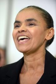 L'écologiste Marina Silva, dont les positions effraient les... (Photo EVARISTO SA, AFP) - image 1.0