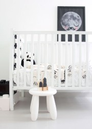 oser le noir et blanc pour les petits laurie richard d co. Black Bedroom Furniture Sets. Home Design Ideas
