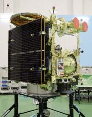 L'Agence d'exploration spatiale japonaise (Jaxa) a présenté à... (Photo JIJI PRESS, AFP) - image 1.0