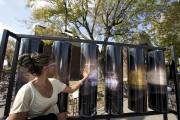 Les Moulins d'art, exposés sur la rue Parthenais,... (Photo: Alain Roberge, La Presse) - image 2.0