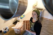 Kristia Riverin, chocolatière.... (PHOTO HUGO-SEBASTIEN AUBERT, LA PRESSE) - image 3.0
