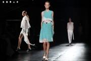 Lacoste a pris le large samedi à la Fashion week de... (PHOTO Joshua LOTT, AFP) - image 2.0