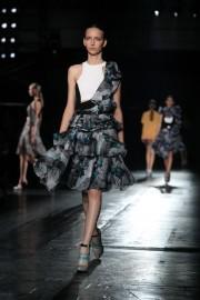 Lacoste a pris le large samedi à la Fashion week de... (PHOTO Joshua LOTT, AFP) - image 2.1