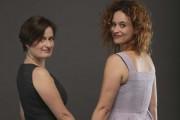 Anne-Marie Olivier et Véronique Côté... (Photo: Martin Chamberland, La Presse) - image 2.0