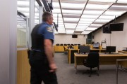 La salle d'audience du palais de justice de... (PHOTO SIMON GIROUX, LA PRESSE) - image 1.0