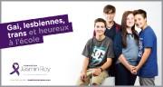 La campagne «Gai, lesbienne, trans et heureux à... (Photo fournie par la Fondation Jasmin Roy) - image 1.0