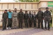 Tous les soldats des YPG sont traités sur... (PHOTO ANDREW NUNN, COLLABORATION SPÉCIALE) - image 2.0