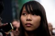 Agnes Chow... (PHOTO ALEX OGLE, AFP) - image 1.0