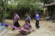 Dans le village de San Lorenzo Zinacantan, il... (PHOTO MARTIN CHAMBERLAND, LA PRESSE) - image 1.0
