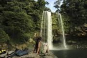 On peut admirer les cascades de Misol-Ha, se... (PHOTO MARTIN CHAMBERLAND, LA PRESSE) - image 5.0