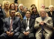 Parents, amis et artistes s'étaient réunis hier à... (Photo Bernard Brault, La Presse) - image 1.0
