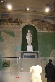 Dans les salles du Neues Museum, des fresques... (Photo Le Soleil, Isabelle Houde) - image 1.1