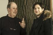 Denys Arcand et Éric Bruneau lors du tournage... (Photo: fournie par Cinémaginaire) - image 3.0