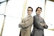 Matthew Cassar (à gauche), président de Sherweb, et... (PHOTO ARCHIVES LA TRIBUNE) - image 4.0