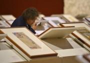 Dans l'exposition Inde, les oeuvres sont déposées en... (Le Soleil, Yan Doublet) - image 1.1
