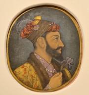 Aurangzeb Bahadur tenant un iris est une oeuvre... (Le Soleil, Yan Doublet) - image 2.0