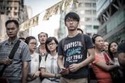 Des manifestants écoutent le discours d'un leader prodémocratie,... (PHOTO PHILIPPE LOPEZ, AFP) - image 2.0