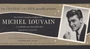 Carton annonçant un spectacle au Château Laurier dans... (Photo tirée du livre Michel Louvain - Sans âge) - image 1.1