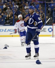 Steven Stamkos a réussi son huitième match de... (Associated Press) - image 1.0